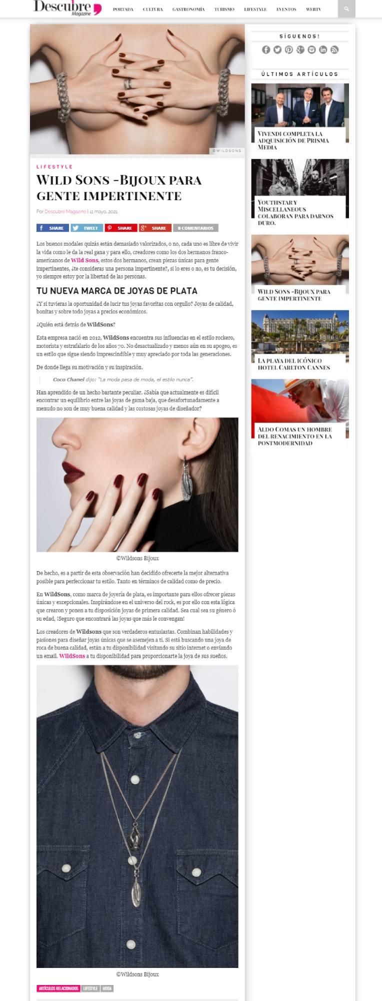descubremagazine-parution-wildsons (1)